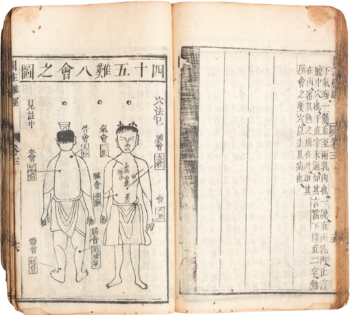 Ancient Chinese book of fertility formulas